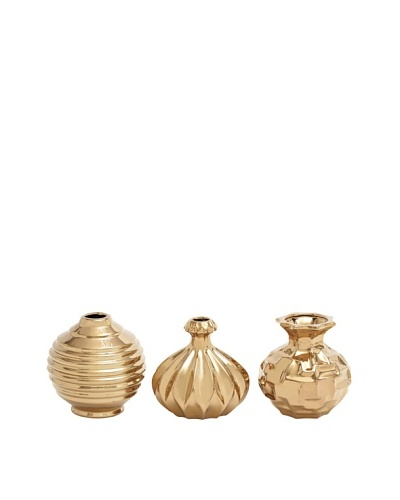 UMA Set of 3 Petite Ceramic Vases