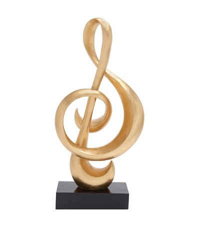 UMA Treble Clef Sculpture
