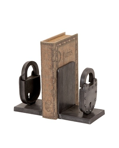 UMA Metal Lock Bookends