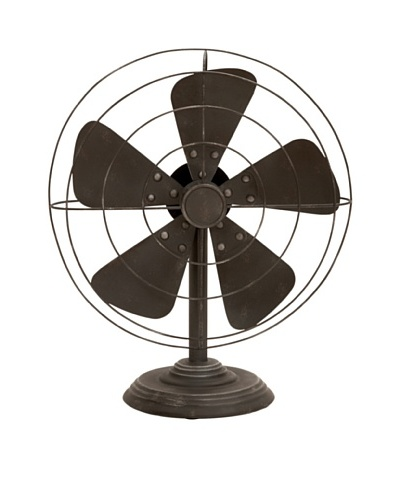 Decorative Vintage-Style Fan