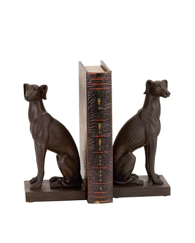 UMA Polystone Dog BookendsAs You See
