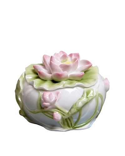 Unicorn Studio Lotus Flower Trinket Box