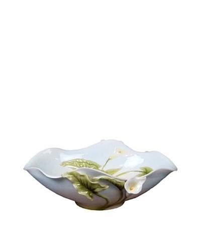 Unicorn Studio Calla Lily Oval Bowl