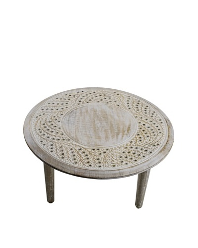 Uptown Down Rajasthan Large Table Off White