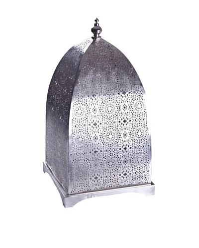 Uptown Down Marrakech Lantern, Silver