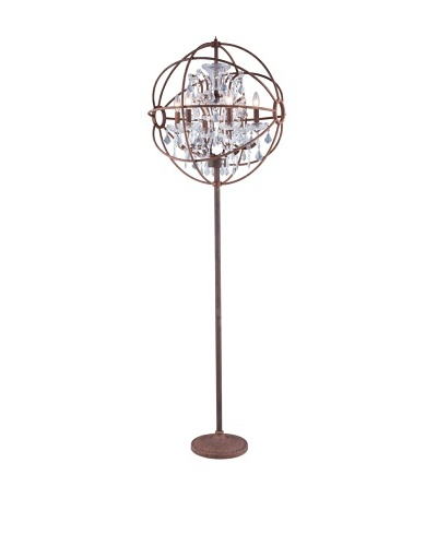 Urban Lights Hemisphere Floor Lamp, Bronze