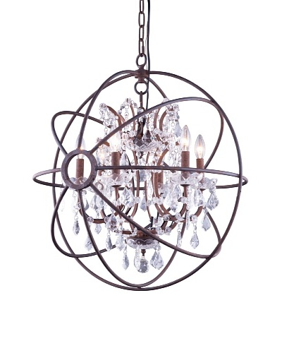 Urban Lights Hemisphere Pendant, Small, Bronze