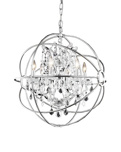 Urban Lights Hemisphere Pendant, Small, Nickel