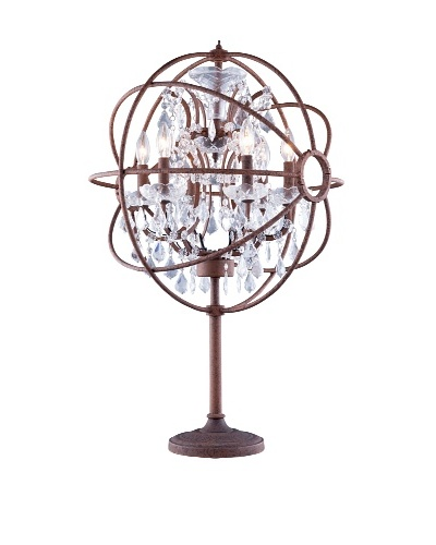 Urban Lights Hemisphere Table Lamp, Bronze