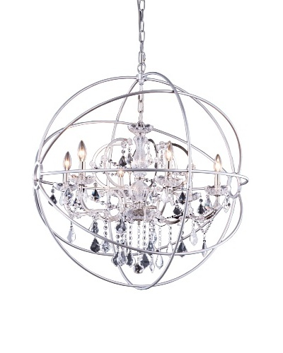 Urban Lights Hemisphere Pendant, Medium, Nickel