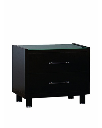 Urban Spaces Lido Night Stand, Coffee