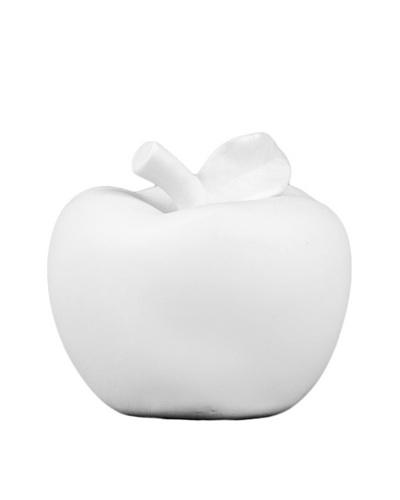 Porcelain Apple, White