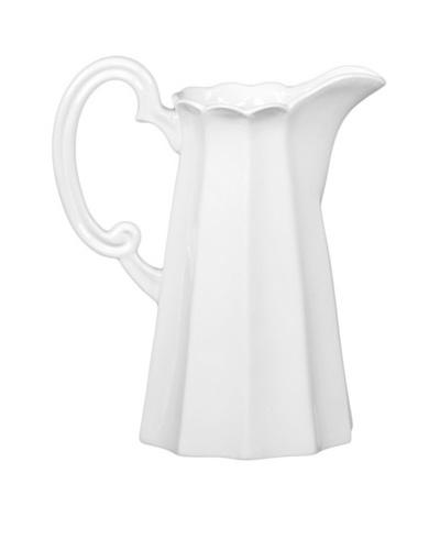 Ceramic Pitcher, White