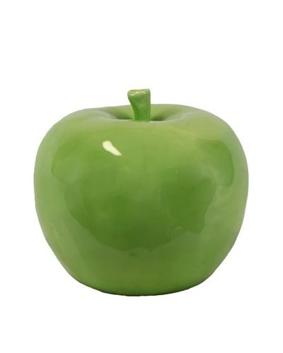 Ceramic Apple, Green