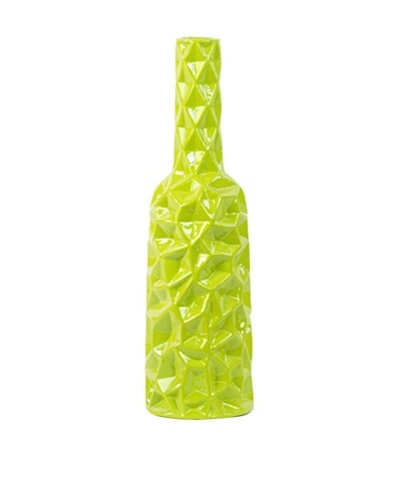 Ceramic Vase, Medium, Green
