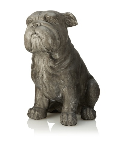 Sitting Dog, Gray