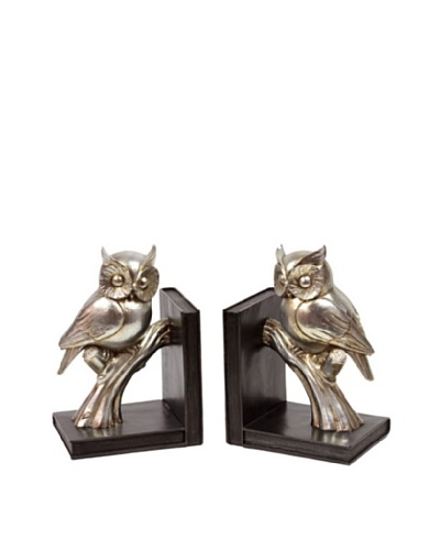 Urban Trends Collection Owl Bookends, GoldAs You See