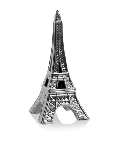 Urban Trends Collection Ceramic Eiffel Tower [Silver]