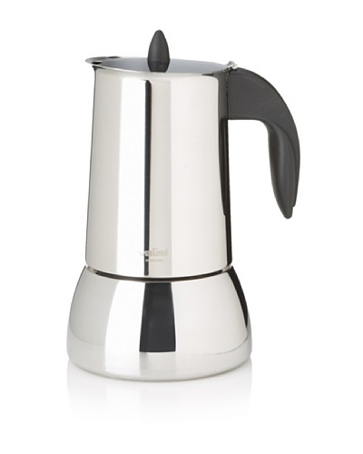 Valira Isabella Stainless Steel 10-Cup Stove-Top Coffee Maker