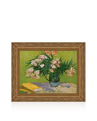 Vincent van Gogh Still Life with Oleander Framed Canvas
