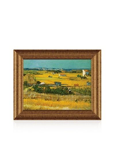 Vincent van Gogh Field Framed Canvas