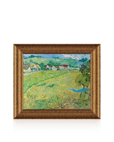 Vincent van Gogh Les Vessenots In Auver, 1890 Framed Canvas