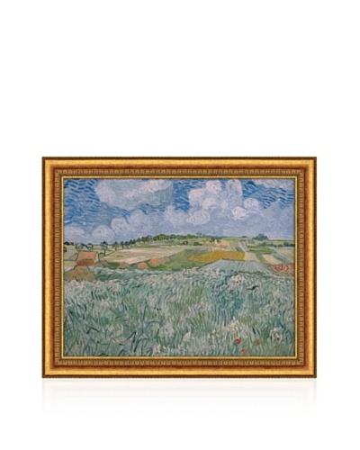 Vincent van Gogh Plain Near Auvers, 1890 Framed Canvas