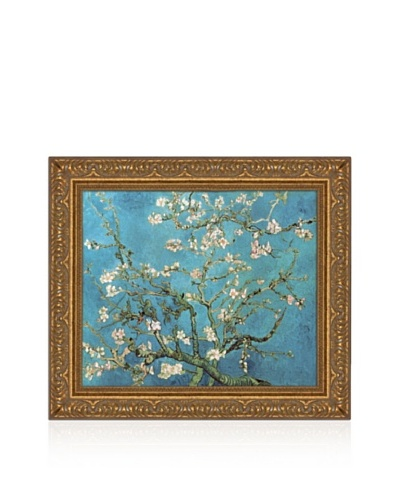 Vincent van Gogh Almond Blossom, 1890 Framed Canvas