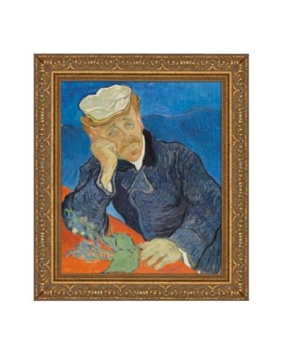 Vincent van Gogh Dr. Paul Gachet, 1890 Framed Canvas