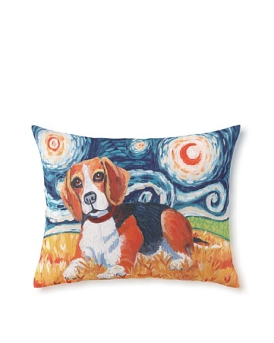Van Growl Beagle Pillow