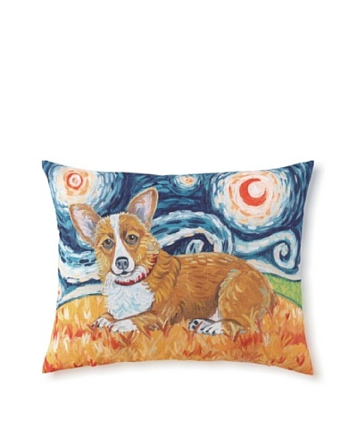Van Growl Corgi Pillow