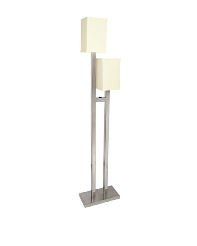 Van Teal Lighting Twin, Twin, Satin Nickel