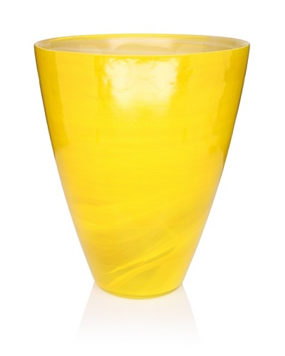 Core Bamboo Classic Vase, Saffron