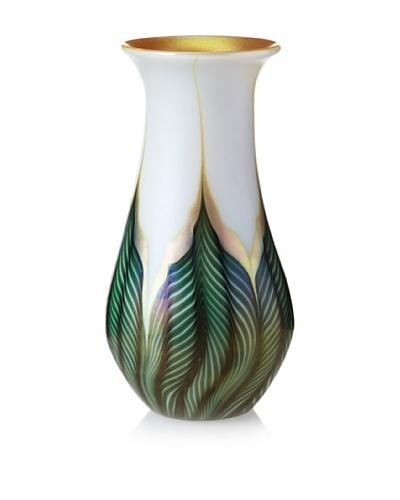 Lundberg Studios Magnolia Mini Gourd Vase