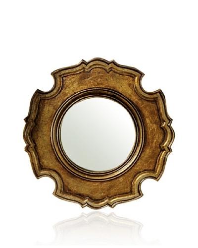 Venezia Ornately Carved Wooden Mirror [Bronze]