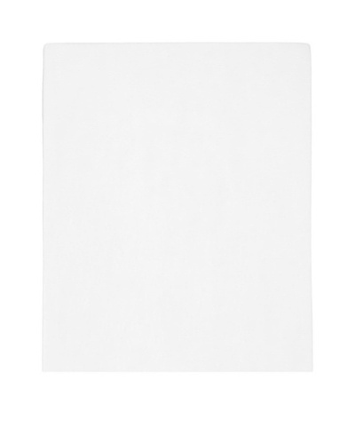 Vera Wang Scuplted Floral Fitted Sheet
