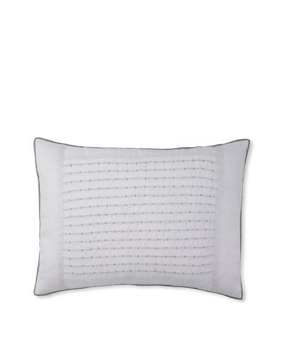 "Vera Wang Dusk Pleat Decorative Pillow, Lavender, 15"" x 20"""