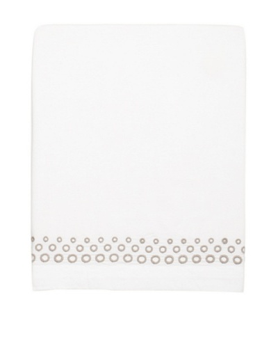 Vera Wang Ribbon Stripe Flat Sheet
