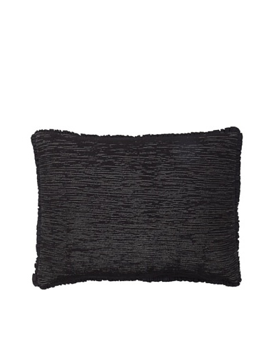 Vera Wang Crinkle Plaid Decorative Pillow, Grey, 12 x 16