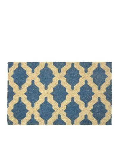 Verde Collection Sumter Blue Doormat