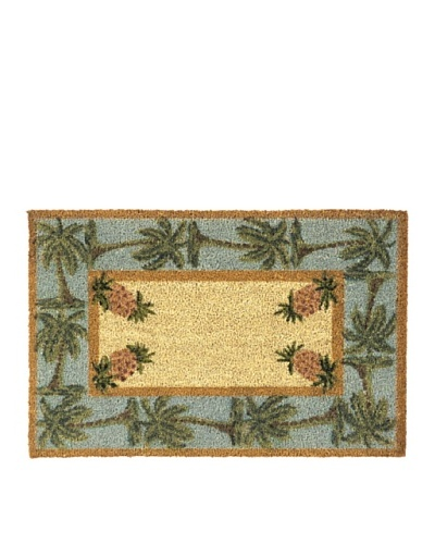 Verde Collection Palm Trees and Pineapple Doormat
