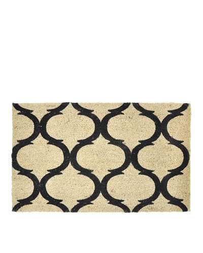 Verde Collection Marlilee Black  Doormat