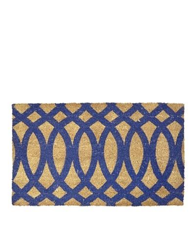 Verde Collection Geo Indigo Doormat