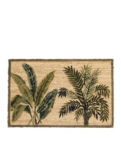 Verde Collection Box Palm Doormat