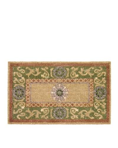 Verde Collection Medallion Sage Doormat
