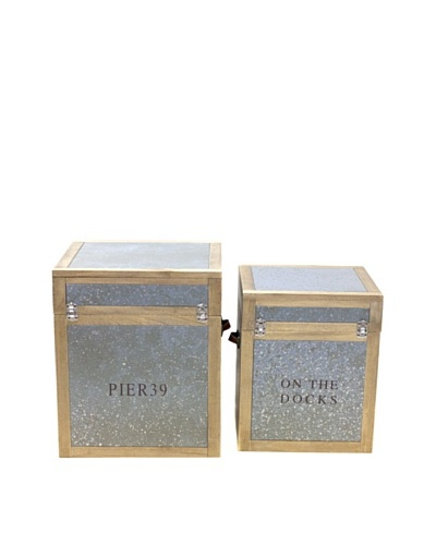 Vertuu Design Set of 2 Maddox Trunks