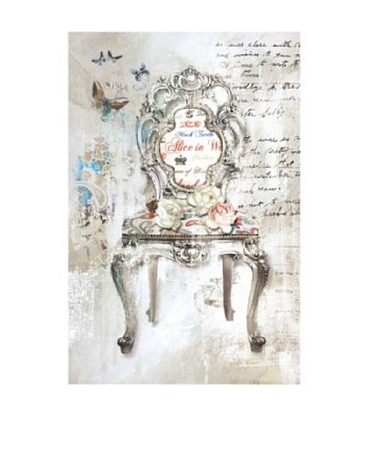 Vertuu Design Antique Chair II Giclée Canvas Artwork
