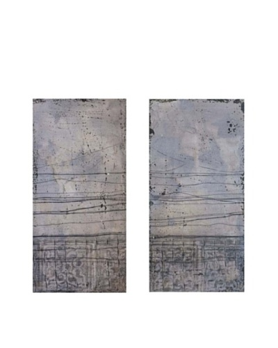 Vertuu Design Set of 2 Subtle Symphony Canvas Artwork
