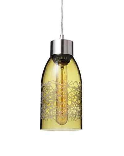 Inhabit Reclaimed Bottle Pendant Light
