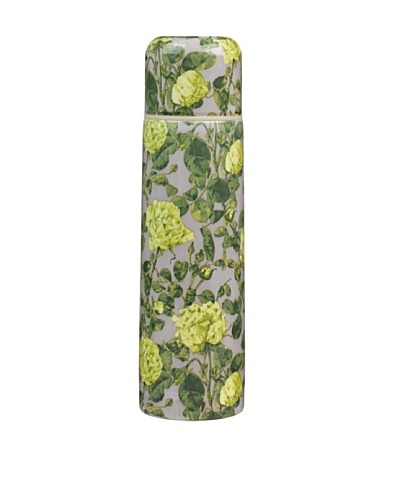 Victoria & Albert Vacuum Flask Yellow & Grey Roses